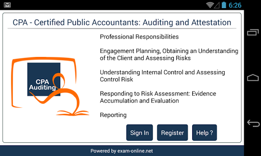 CPA Audit Exam Online