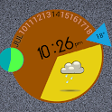 Shape the Clock (UCCW) Skin icon