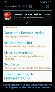 GPS Tracker Car TK SMS - screenshot thumbnail
