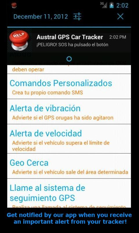 GPS Tracker Car TK SMS - screenshot