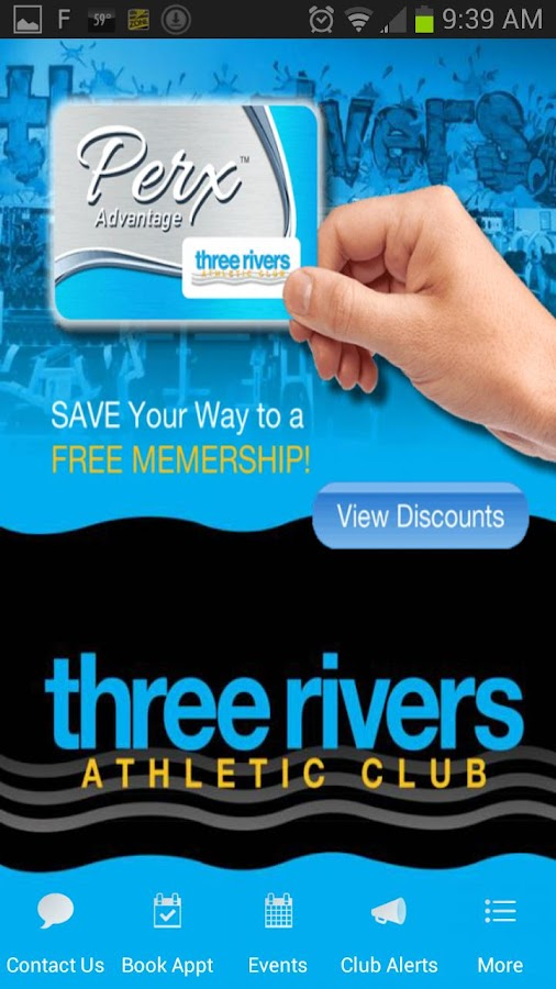 Three Rivers Athletic Club WA- screenshot