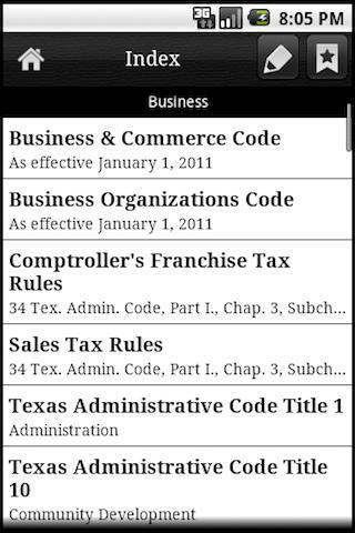 Texas Legal  screenshots 1