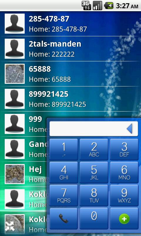 EasyDialer T9- screenshot