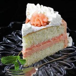 Fresh Grapefruit Cake.