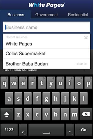 White Pages® Australia - screenshot