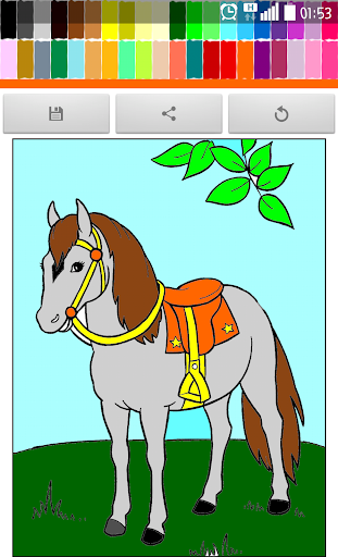 Coloring : Horse