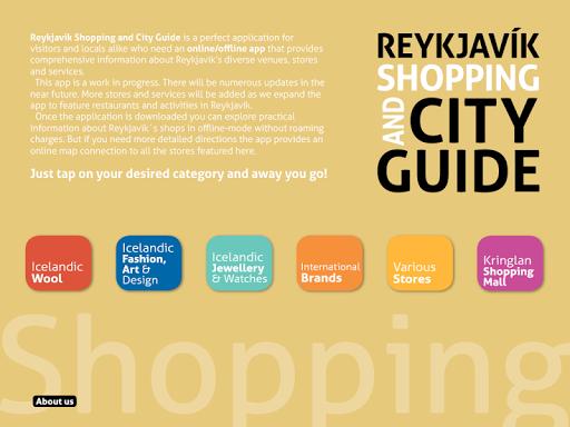 Reykjavik Shop and City Guide