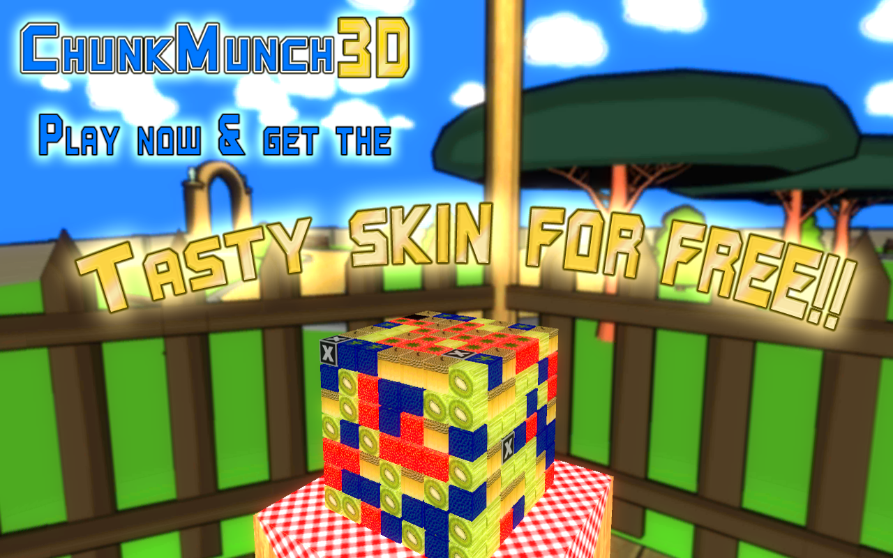 Chunk Munch 3D - screenshot