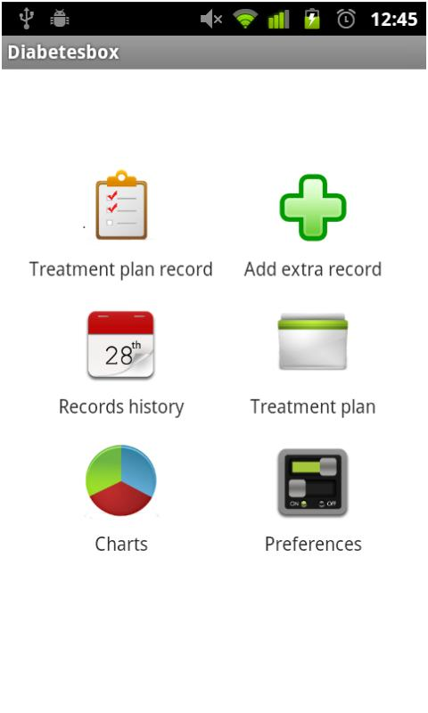 DiabetesBox - screenshot