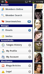 TangoWire Dating Communities - screenshot thumbnail