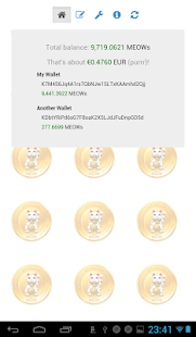 KittehCoin Balance- screenshot thumbnail
