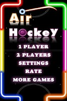 Screenshot of Air Hockey Deluxe