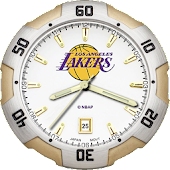 LosAngeles Lakers Clock LiveWP