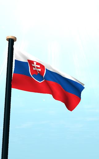 斯洛伐克旗3D动态壁纸|玩個人化App免費|玩APPs