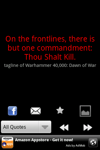 War Quotes - screenshot