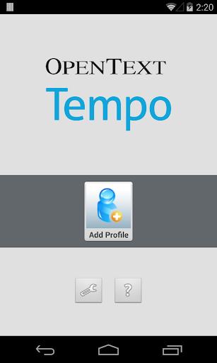 OpenText Tempo