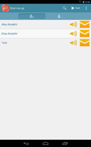 ShutMeUP blacklist call sms Li