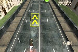 Screenshot of City Moto Races 3D