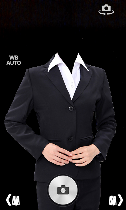 formal attire template - women suit photo montage android apps on google play