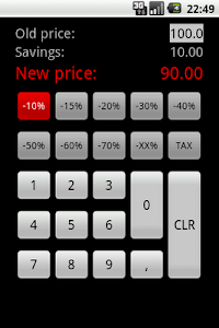 Discount Calculator - Simple screenshot 0