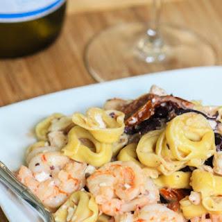 Mediterranean Shrimp Tortellini
