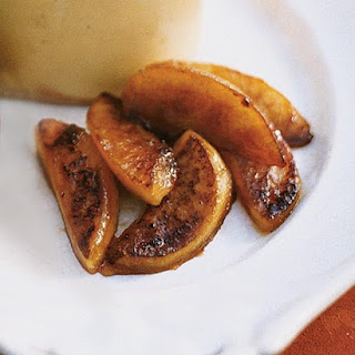 Sauteed Maple Syrup Apples.