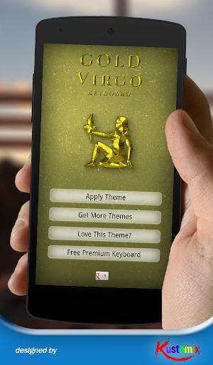 Gold Virgo Keyboard
