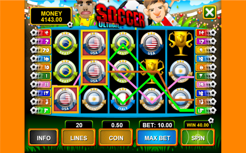 Sensible Soccer: World Cup Slot Machine - Play for Free Now