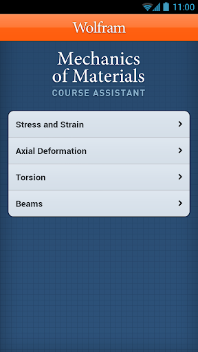 Mechanics of Materials App