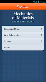 Mechanics of Materials App- screenshot thumbnail