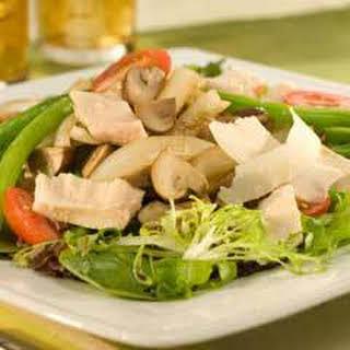 Warm Tuna & Vegetable Salad .