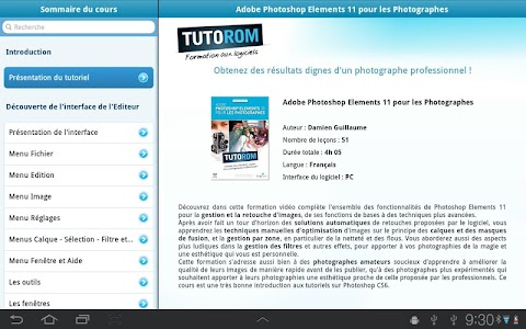 Tuto Photoshop Elements 11 screenshot 3