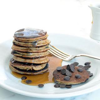 Banana Chocolate Chip Pancakes.