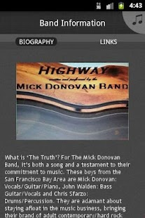 Mick Donovan Band - screenshot thumbnail