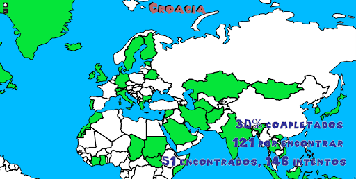 【免費棋類遊戲App】Encuentra paises - Juego mapas-APP點子