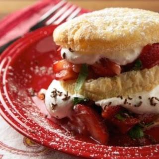 Italian-Style Strawberry Shortcake Recipe