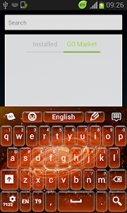 Fire Galaxy Keyboard - screenshot thumbnail