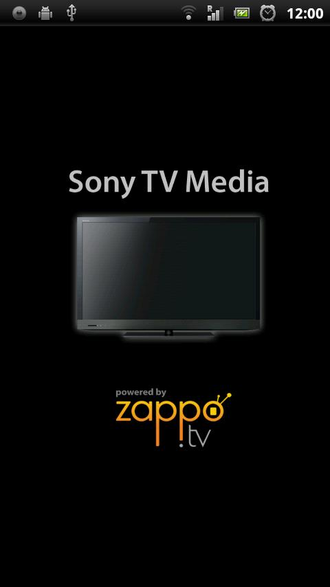 Sony TV Media Player- screenshot