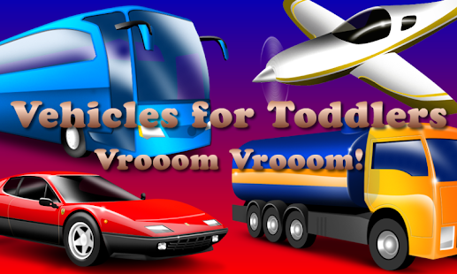 Vehicles for Toddlers FREE- screenshot thumbnail