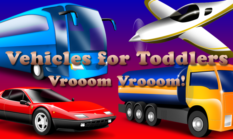 Vehicles for Toddlers FREE- screenshot
