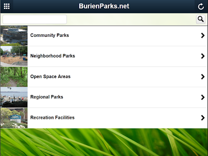 BurienParks.net- screenshot thumbnail