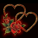 Hearts And Roses Live Wallpape logo