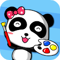 Panda painting 1(kids) logo