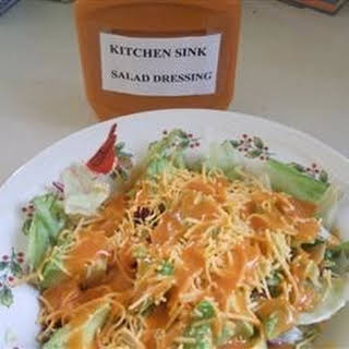 Kitchen Sink Salad Dressing.