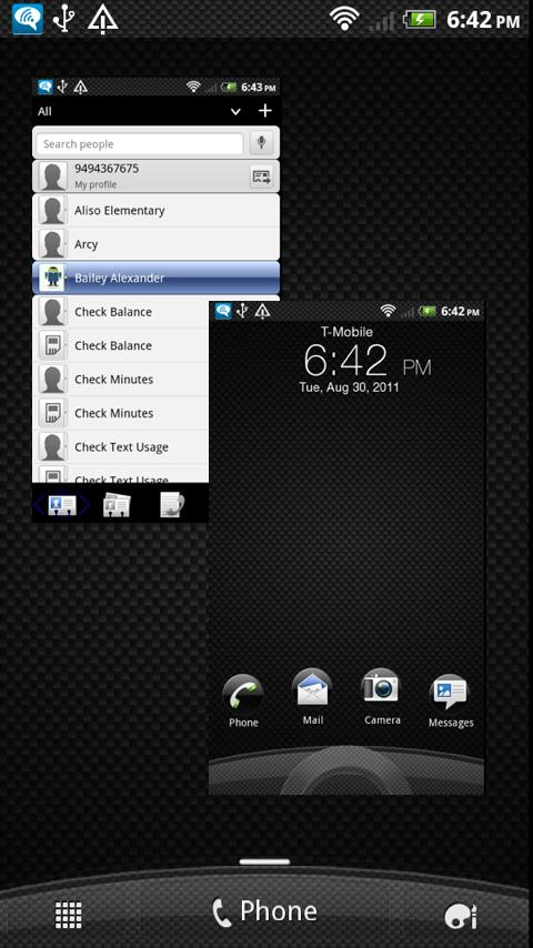 Sense 3.0 Skin CarbonFiberPro - screenshot