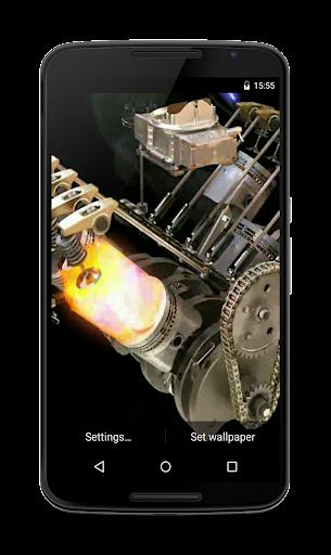 Engine 3D Live Wallpaper  screenshots 2