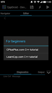 CppDroid - C/C++ IDE - screenshot thumbnail