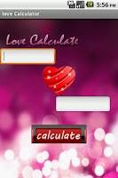 Screenshot of Love Calculator
