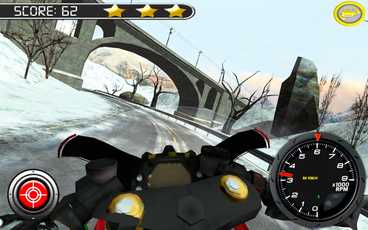 Frozen-Highway-Bike-Rider-VR 17