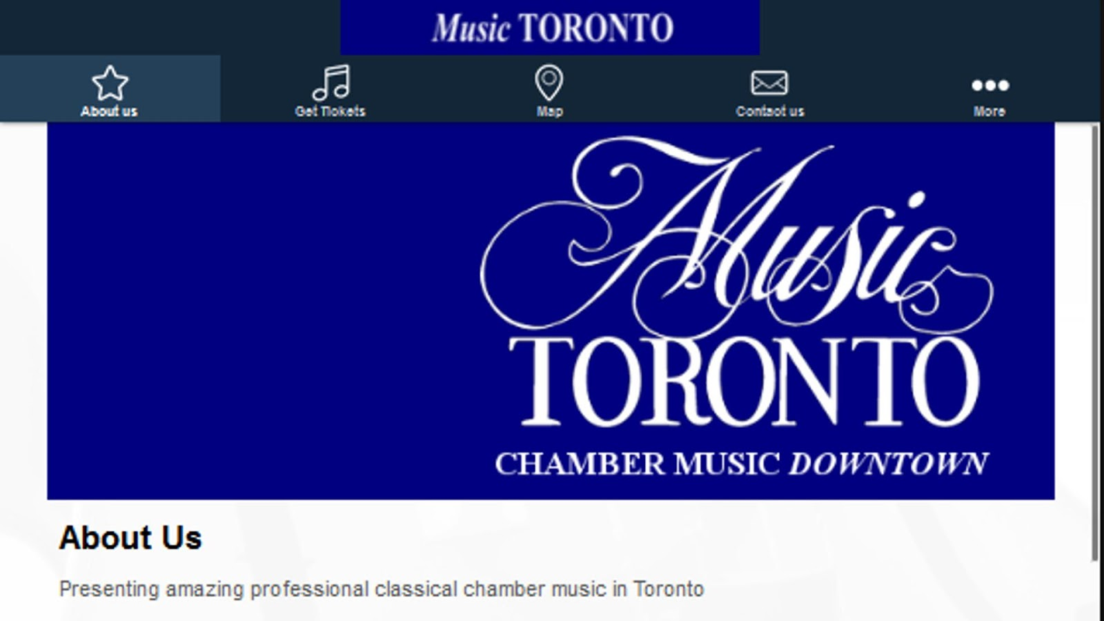 Music Toronto- screenshot